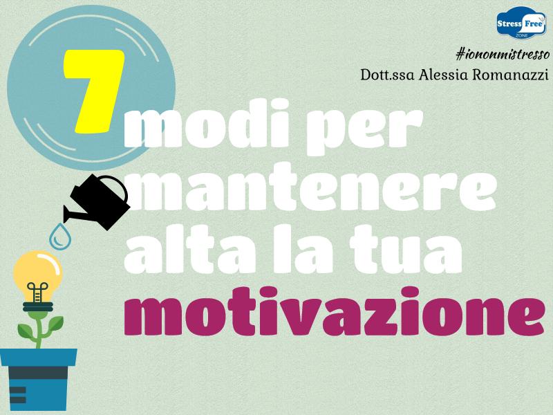 Mantenere alta la motivazione (1)