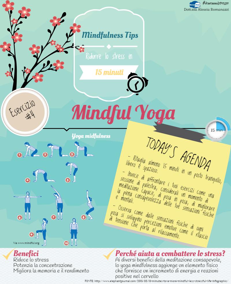 Mindful Yoga | Esercizi Mindfulness