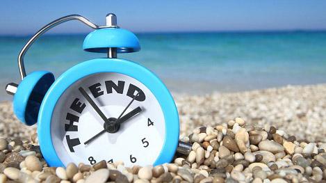 fine vacanze