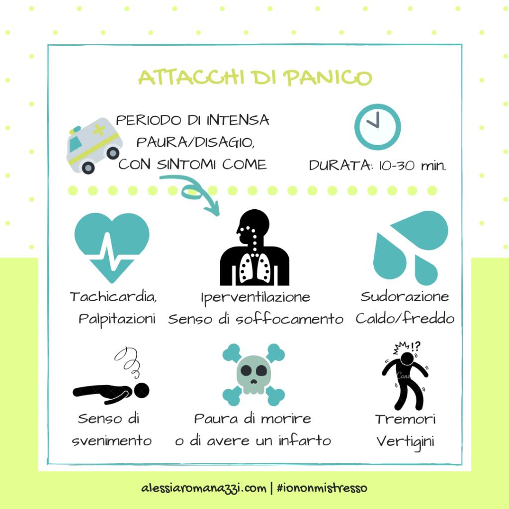 Infografica | Attacchi di panico: cosa sono